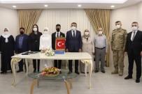 Siirt Valisi Hacıbektaşoğlu Genç Çiftin Nikahını Kıydı