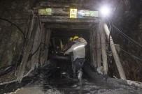 Çanakkale'de Madende Göçük Altında Kalan İşçiyi Arama Çalışmaları Sürüyor