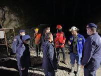 Çanakkale Valisi Aktaş, Göçük Bölgesinde İncelemelerde Bulundu