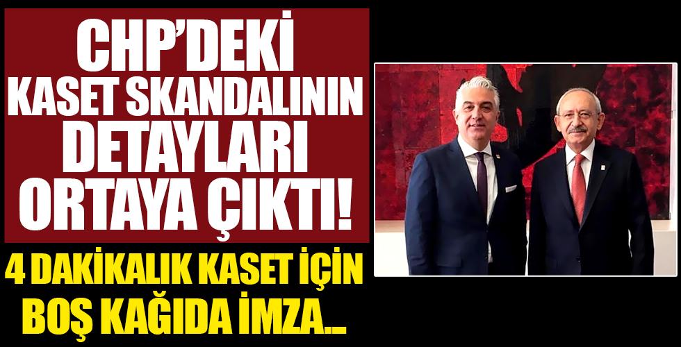 CHP'de yeni kaset skandalı! Teoman Sancar'ın istifa nedeni belli oldu: Boş kağıda imza attırdılar!