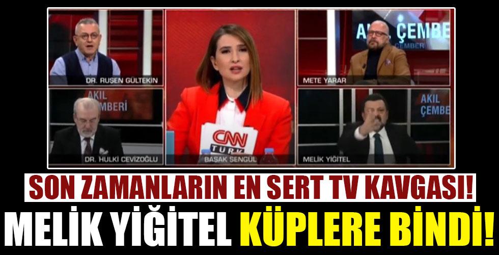 Ruşen Gültekin'e çok sinirlenen Melik Yiğitel canlı yayında adeta köpürdü!