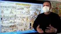 Çorum'da Bir Sınıf Öğretmeni Öğrencilerine Günlük Hayatı Nostaljik Ders Afişleriyle Anlatıyor