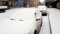 Kars Ve Ardahan Kar Yağışıyla Yeniden Beyaza Büründü