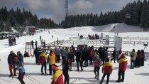 Kayaklı Koşu FIS Balkan Kupası Yarışmaları Bolu'da Yapıldı