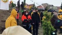 Bartın'da Sağlık Çalışanları Adına 800 Fidan Dikildi