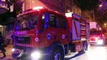 Kayseri'de Apartmanda Çıkan Yangında Balkonda Mahsur Kalan 8 Kişilik Aileyi İtfaiye Kurtardı