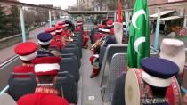 Kayseri'de Nevruz Bayramı Üstü Açık Otobüsle Kutlandı