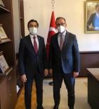 Cizre TSO Başkanı Sevinç, Bakan Kasapoğlu'na Kentin Spor Alanındaki Sorunlarını İletti