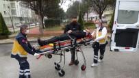 Çorum'da İki Otomobil Çarpıştı Açıklaması 2 Yaralı