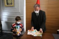 İlkokul İkinci Sınıf Öğrencisi Bilal Akar'dan Başkan Özdoğan'a Anlamlı Ziyaret