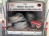 Tarladaki Elektrik Kablolarını Çalan Şahıslar Yakalandı