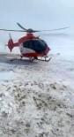 Ambulans Helikopter Köyde Mahsur Kalan Hamile Kadın İçin Havalandı