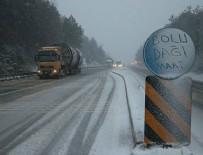 Bolu Dağı'nda Kar Yağışı Şiddetini Artırdı