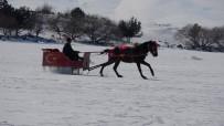 Doğunun İncisi Çıldır Gölü'nde Atlı Kızakla Türkü Keyfi