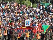 ZIMBABVE - Eski Tanzanya Devlet Başkanı'nın cenaze töreninde izdiham!