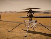 İnsanlık tarihinde ilk! Mars'ta havalanacak!