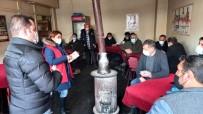 Kars'ta Kadına Şiddet Bilgilendirme Toplantıları Sürüyor