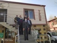 Kaymakam Cebeci, Ziraat Odası Başkanları İle Toplantı Yaptı