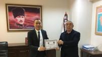 Ünsal'dan Başaran'a Teşekkür Belgesi