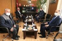 Vali Becel, Ziraat Odası Başkanı Kaya'yı Ziyaret Etti