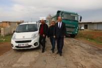 Yalçınkaya, Kırsaldaki Yol Çalışmalarını İnceledi