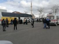 Aksaray'da Yolcu Otobüsünde Korona Alarmı