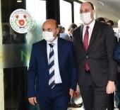 Başkan Oral MKYK'ya Seçilen Büyükgümüş'ü Kutladı