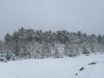 Kar Yağışı Eskişehir Kırsalında Etkisini Gösterdi