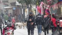 Kırklareli'nde Mart Ayında Lapa Lapa Kar Yağışı