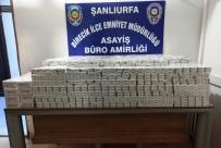 Şanlıurfa'da 3 Bin 350 Paket Kaçak Sigara Ele Geçirildi