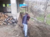 Şenoba'da Altyapı Çalışmaları Sürüyor