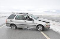 Sorgun'da Otomobil Takla Attı Açıklaması 1 Ölü