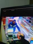 Tütün Hırsızı Kameraya Yakalandı