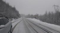 Kastamonu'da Kar Yağışı Etkisini Sürdürüyor