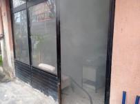 Siirt'te İş Yerinde Çıkan Yangın Korkuttu