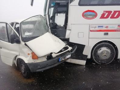 Sivrihisar'da Trafik Kazası, 1 Ölü
