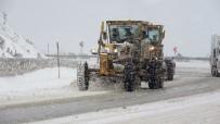 Tokat'ta Kar Yağışı Ve Tipi Etkili Oldu