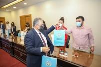 Başkan Yalçın'a 'Dünya Tiyatro Günü' Ziyareti