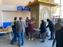 Bucak'ta İkram Çeşmesi'nden Su Yerine Tarhana Çorbası Akıyor
