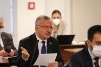 Rektör Levent, YÖK Anadolu Projesi Değerlendirme Toplantısına Katıldı