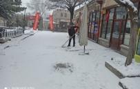 Aksaray'ın Yüksek Kesimlerinde Kar Etkisini Sürdürüyor