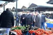 Belediye Başkanı Ekicioğlu, Semt Pazarı Ve Esnafların Kandilini Kutladı