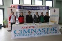 Bolu'da, Türkiye Artistik-Trampolin Cimnastik Şampiyonası Başladı