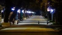 Kırklareli'nde 32 Saatlik Sokağa Çıkma Yasağı Başladı