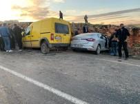 Şırnak'ta İki Araç Kafa Kafaya Çarpıştı Açıklaması 4 Ölü, 2 Yaralı