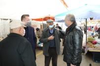 Belediye Başkanı Üçok, Semt Pazarı Ve Esnafların Kandilini Kutladı