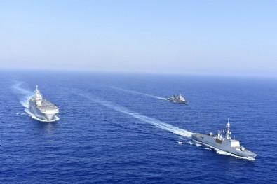 Doğu Akdeniz'de sıcak saatler! Askeri gemi sayısını arttırdı..