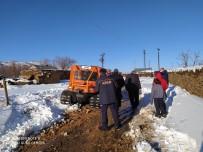 İçme Suları İçin Gittikleri Arazide Mahsur Kalan Köylüleri AFAD Kurtardı