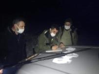 Türkeli'de Gece Avcılığı Yapan 3 Kişiye Ceza