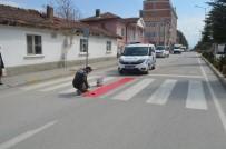 '30 Mart'ta Kırmızı Çizgimizi Çekiyoruz' Uygulaması Beylikova'da Da Gerçekleştirildi